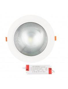 Downlight redondo empotrable 30W-A potente mucha luz