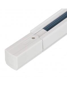 Carril trifásico 2 metros blanco eco con conector