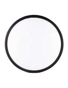 Plafón circular con dibujo lateral
