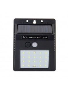 Aplique solar de pared 2W,...