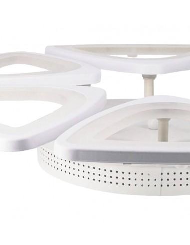 Lámpara led diseño hexagonal 120W,...