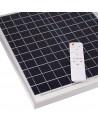 Proyector solar con acumulador y mando de 60W y 6000 lúmenes a 6000k