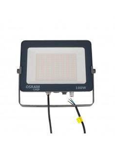 Proyector exterior sellado IP65 100W y 12.000 lúmenes, con temperatura de luz regulable