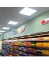 Panel LED 595x595 mm 48W profesional uso comercio
