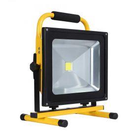Proyector LED con batería recargable 50W y 4500 lúmenes
