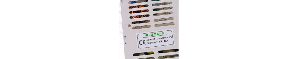 Fuentes de alimentación 5V para tiras de led | Ledbex