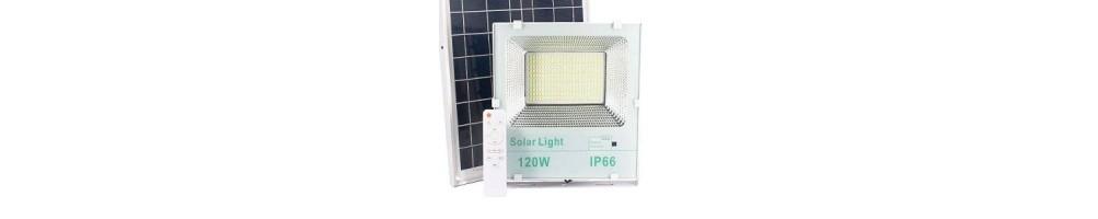 Venta online de focos solares led autoalimentados | Ledbex
